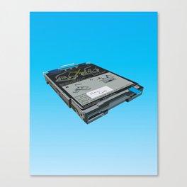 Disk Drive Canvas Print