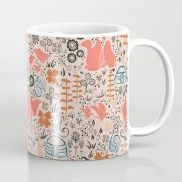 Mongolian Expanse Pattern Coffee Mug