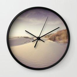 Oregon Dunes Wall Clock