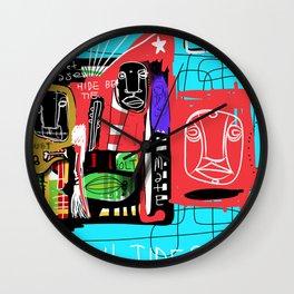 Secret Tides Wall Clock