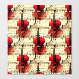 Violin Concerto Canvas Print