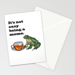 Hot Tea Stationery Cards