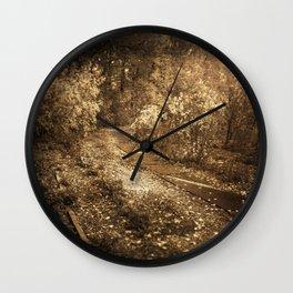 Road to memories Wall Clock