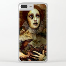 The Demon is hidden Clear iPhone Case