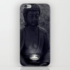 Buddha in the dark iPhone & iPod Skin