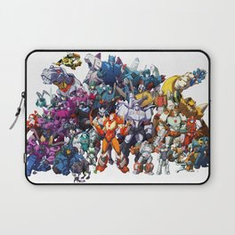 30 Days of Transformers - More Than Meets The Eye cast Laptop Sleeve
