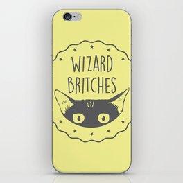 WIZARD BRITCHES iPhone Skin