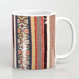 Salé  Antique Morocco North African Flatweave Rug Coffee Mug