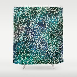 Floral Abstract 4 Shower Curtain