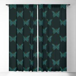 Mechanical Butterfly Blackout Curtain