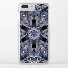 sapphires star Clear iPhone Case