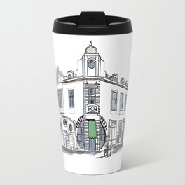 street of the old town / art Travel Mug