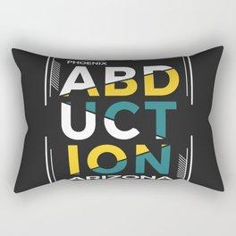 ABDUCTION | UFO Art Rectangular Pillow