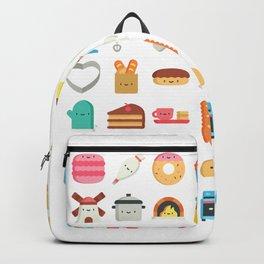 CUTE BAKERY PATTERN (CUTE CHEF BAKER) Backpack