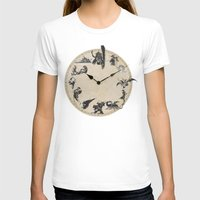 final fantasy T-shirts featuring FINAL FANTASY CLOCK by DrakenStuff+