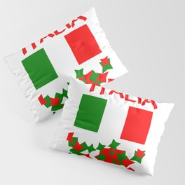 Italy  flag Pillow Sham