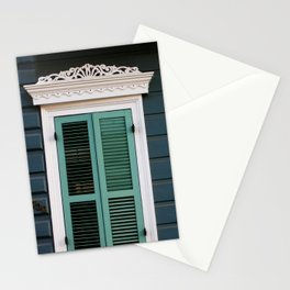 New Orleans Creole Cottage Stationery Cards