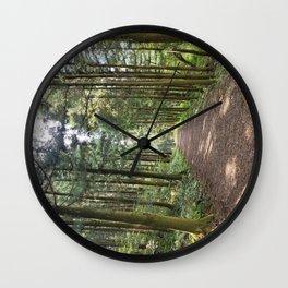 Samdasoo Forest Road, Jeju Island, Korea. Wall Clock