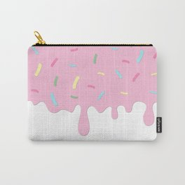 Donut Glaze, Frosting, Sprinkles - Pink Blue Green Carry-All Pouch