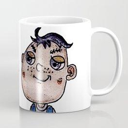 Eggplant Head Boy Coffee Mug