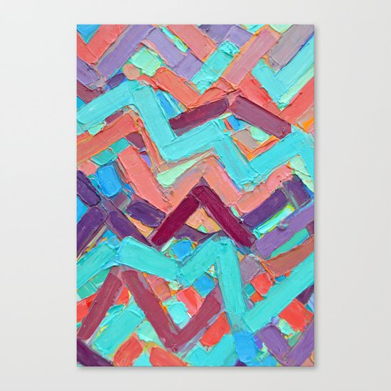 Summer Paths No. 1 Original Canvas Print