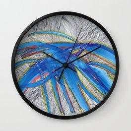 Blue Devils Wall Clock