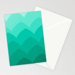 Mountainside at Dusk Stationery Cards