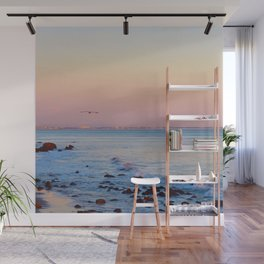 Gliding in Twilight Wall Mural