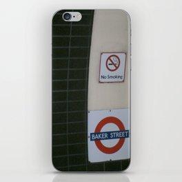 No Smoking Underground. iPhone Skin