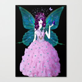 Lilly the Water Fairy Canvas Print