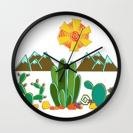Southwest Sunshine Wall Clock