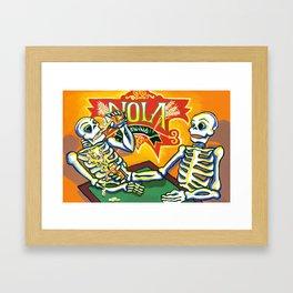 nola brewing Framed Art Print