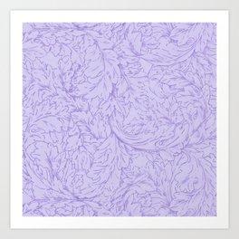 """William Morris """"Acanthus Scroll"""" 8. Art Print"""