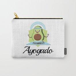 Ayogado | Yoga Avocado Carry-All Pouch