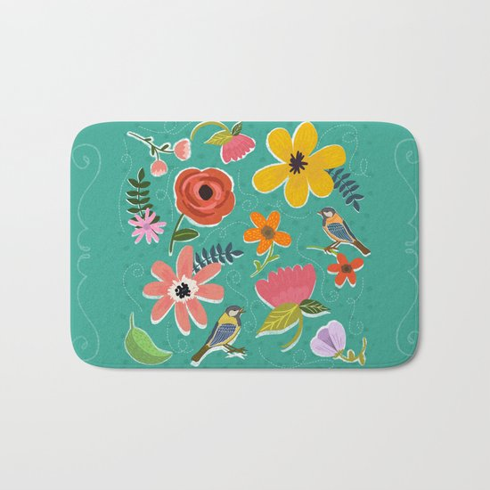 Secret Garden Bath Mat