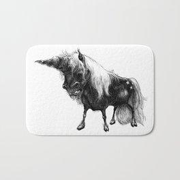 Angry Unicorn Bath Mat