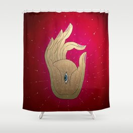 Mudra Shower Curtain