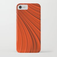 renaissance iPhone & iPod Cases featuring Renaissance Red by Charma Rose