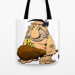 Caveman! Tote Bag