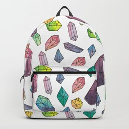 watercolour cystals Backpack