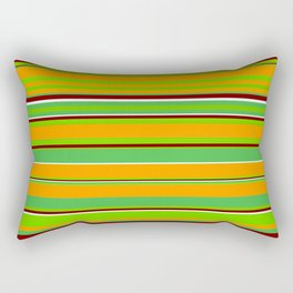 Stripes-008 Rectangular Pillow