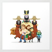So much trouble Art Print
