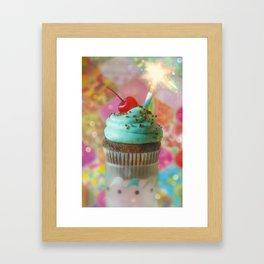 Cirque du Cupcake V Framed Art Print