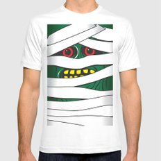 Mummy MEDIUM Mens Fitted Tee White