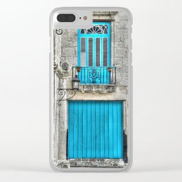 Cuba architecture Clear iPhone Case