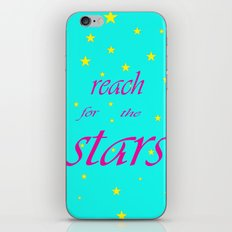 Reach for the stars iPhone & iPod Skin