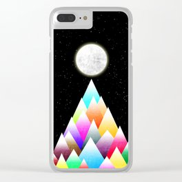 Stars Night Clear iPhone Case