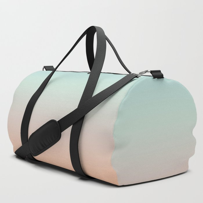 Color gradient background - fading sunset sky colors Duffle Bag