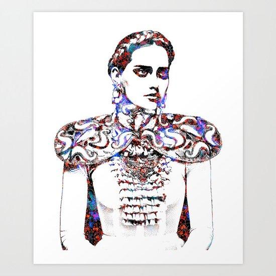 Regal: Fashion Art Print