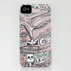 Hirsute iPhone (4, 4s) Slim Case